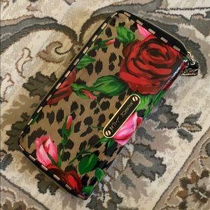 Betsey Johnson Rose Wallet